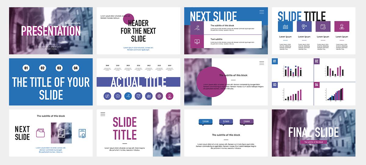 Powerpoint Decks designed recently 2
