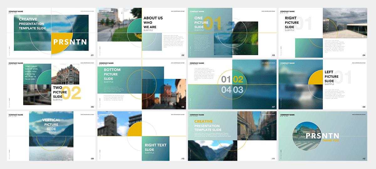 Powerpoint Decks designed recently 3